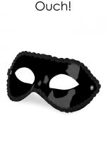 Masque Fetish SM - Mask for party : Masque noir unisexe orienté Fetish SM,  par Ouch!