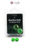 2 Brazillian balls effet vibrator