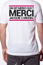 T-shirt Jacquie & Michel n°6 : Le Tee-shirt exclusif (visuel 6) à l'effigie de  Jacquie & Michel, votre site amateur préféré.