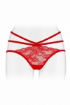 Culotte ouverte  Nadia - rouge