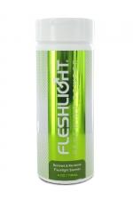 Poudre régénérante Fleshlight : FleshLight renewing powder pour entretenir et rénover votre masturbateur favori.